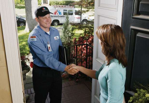 in-home estimate from Freschi Service Experts